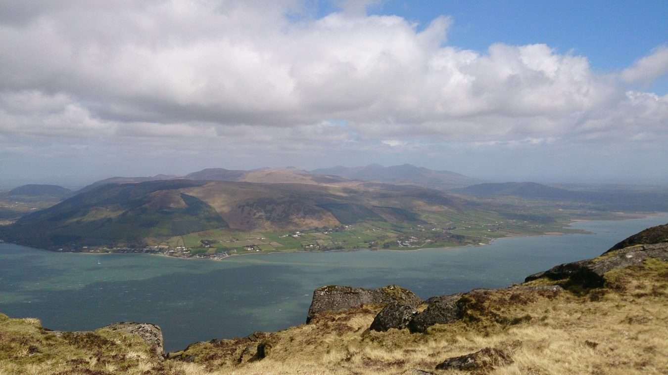 Slieve-Foye-guided-hiking-view-to-the-Mournes-min