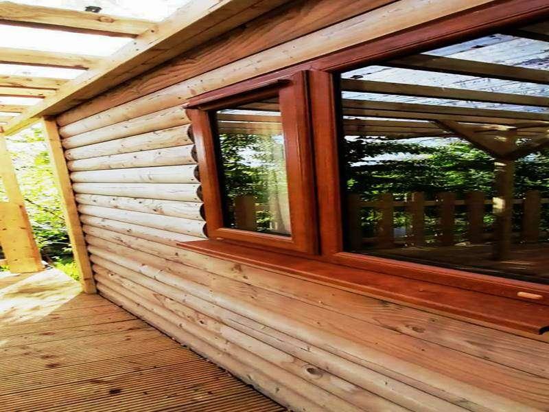 Swallows Log Cabin--7